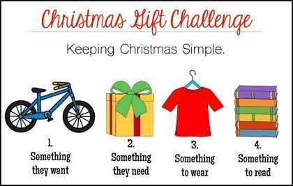 christmas gift challenge 2